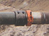 Быстрое соединение плоскосворачиваемого рукава со стальным трубопроводом
