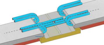 Правильная стыковка тросов конвейерной ленты